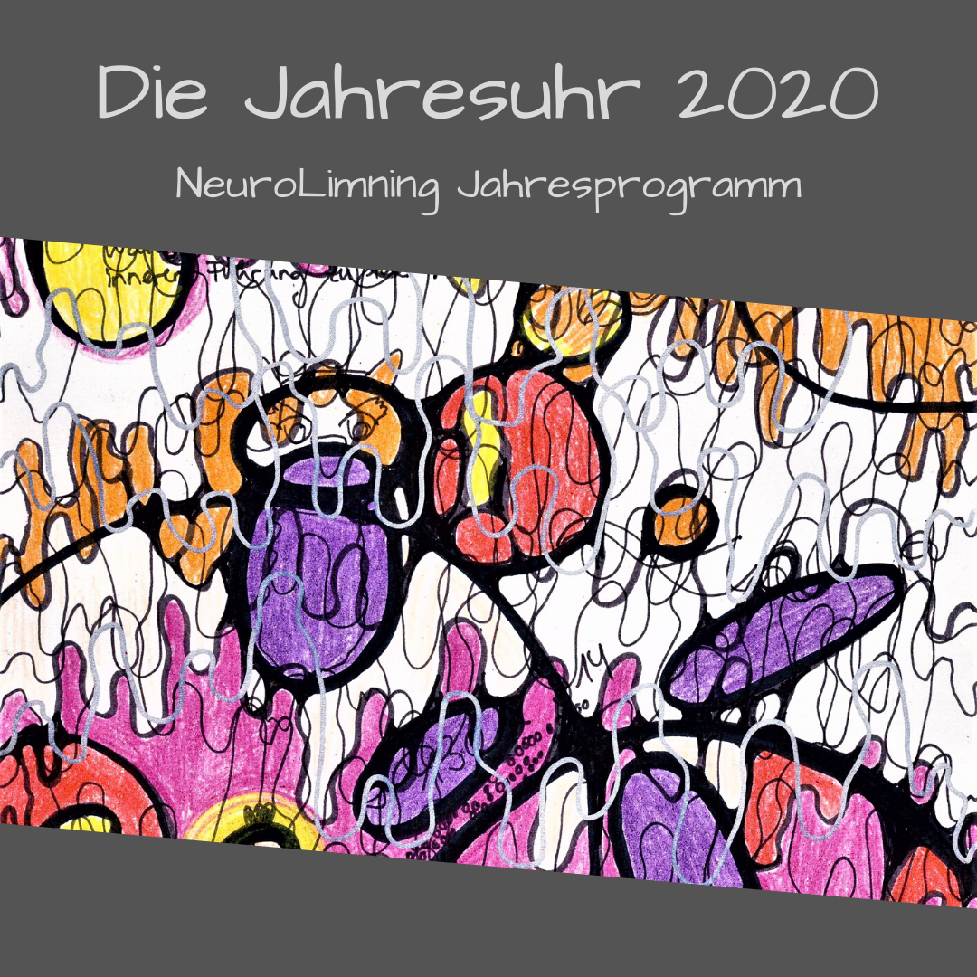 """12-Monats-Programm """"Die Jahresuhr 2020"""" - mit dem Stift durchs ganze Jahr https://wertelounge.de/kurse/die-jahresuhr-2020/"""